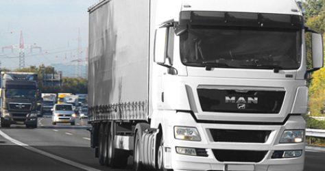 monitoring cieżarówki