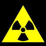 znak  materiały radioaktywne