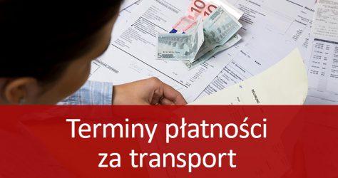 Terminy płatności w transporcie